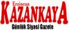 Kazankaya Gazetesi son dakika